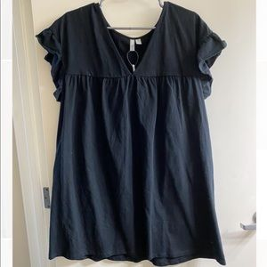 ASOS Black Babydoll Dress